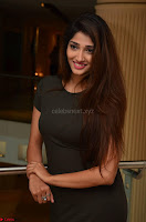 Priya Vadlamani super cute in tight brown dress at Stone Media Films production No 1 movie announcement 055.jpg