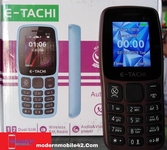 E-Tachi B13 Flash File