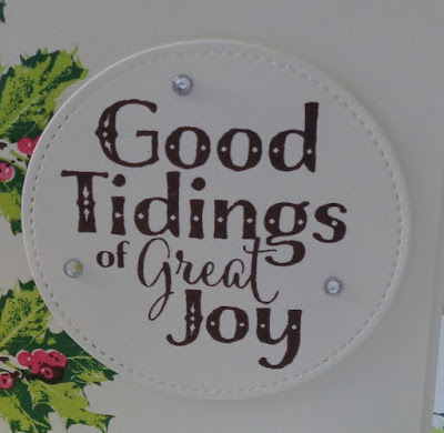 Stampin' Up! UK Independent  Demonstrator Susan Simpson, Craftyduckydoodah!, Good Tidings, November Coffee & Cards Project 2017, Supplies available 24/7 from my online store,
