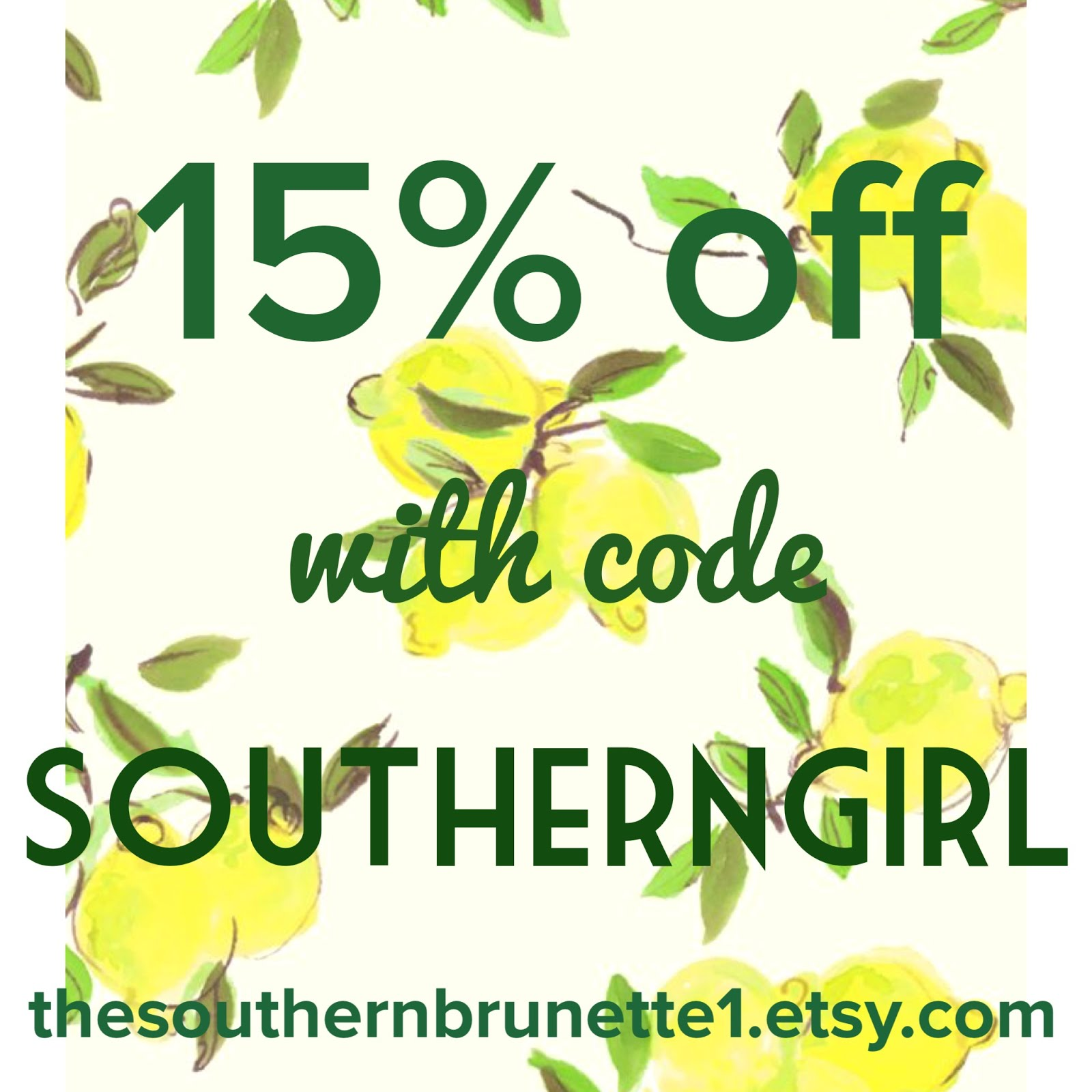Visit The Southern Brunette For Custom Vinyl Monograms & Gifts