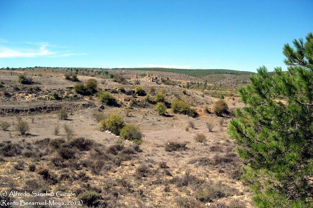 camino-vera-cruz-rento-benarruel-ruinas