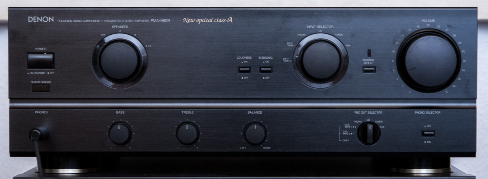 If it wasn't for Revox and their excellent B200 series, it is likely that a  PMA-980R would still be my main amp for audio entertainment.