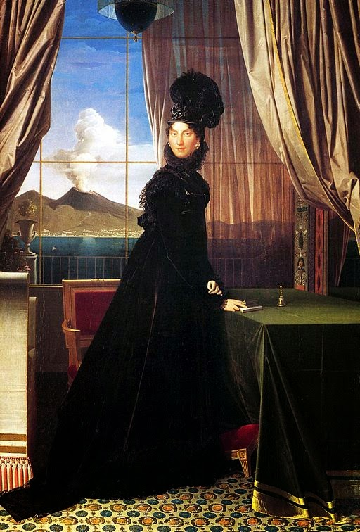 Caroline Bonaparte Murat by Jean-Auguste-Dominique Ingres, 1814