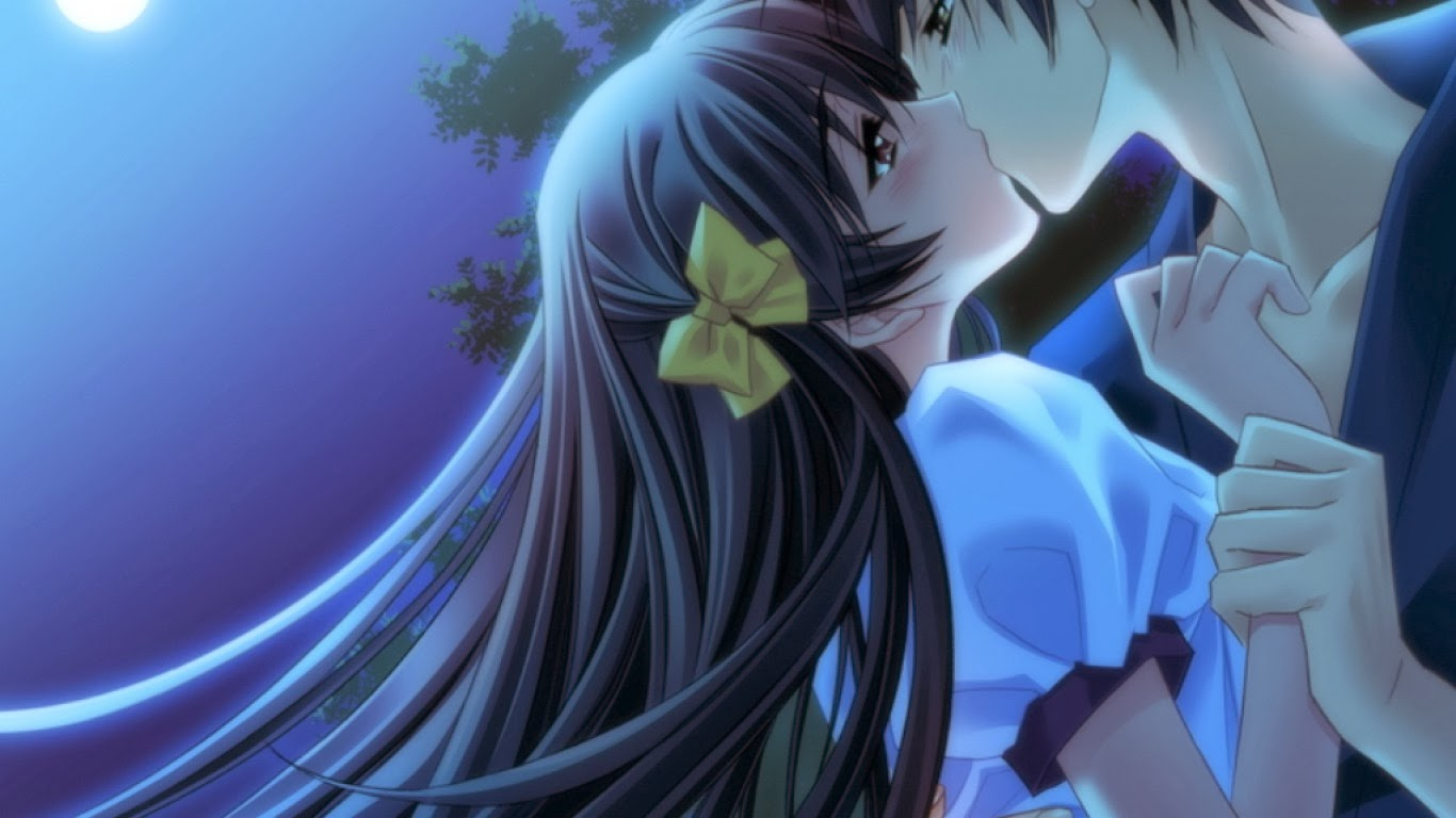 Beautiful Love Couple Kiss Pictures Full Hd Wallpapers Ou -1023
