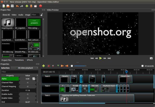 OpenShot 2.4.3 lanzado con estabilidad mejorada - El Blog de HiiARA