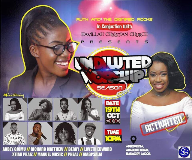 Undiluted Worship-Ruth Chuks 2018 Edition