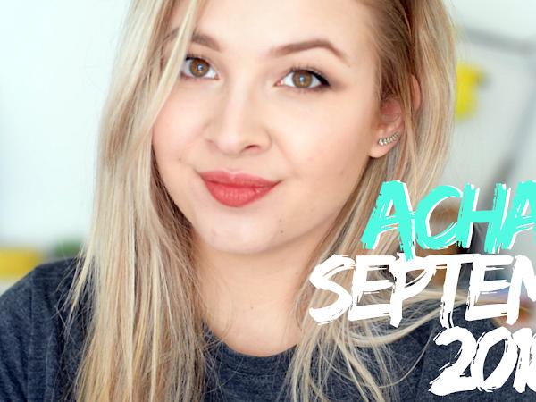 Achats - Septembre 2018