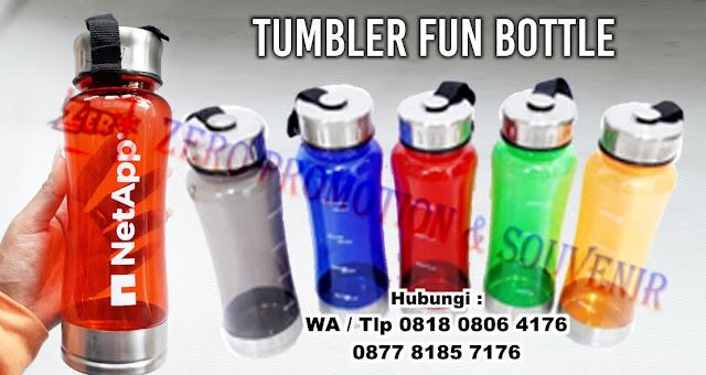tumbler Fun bottle, botol tempat minum fun bottle, Sport Bottle