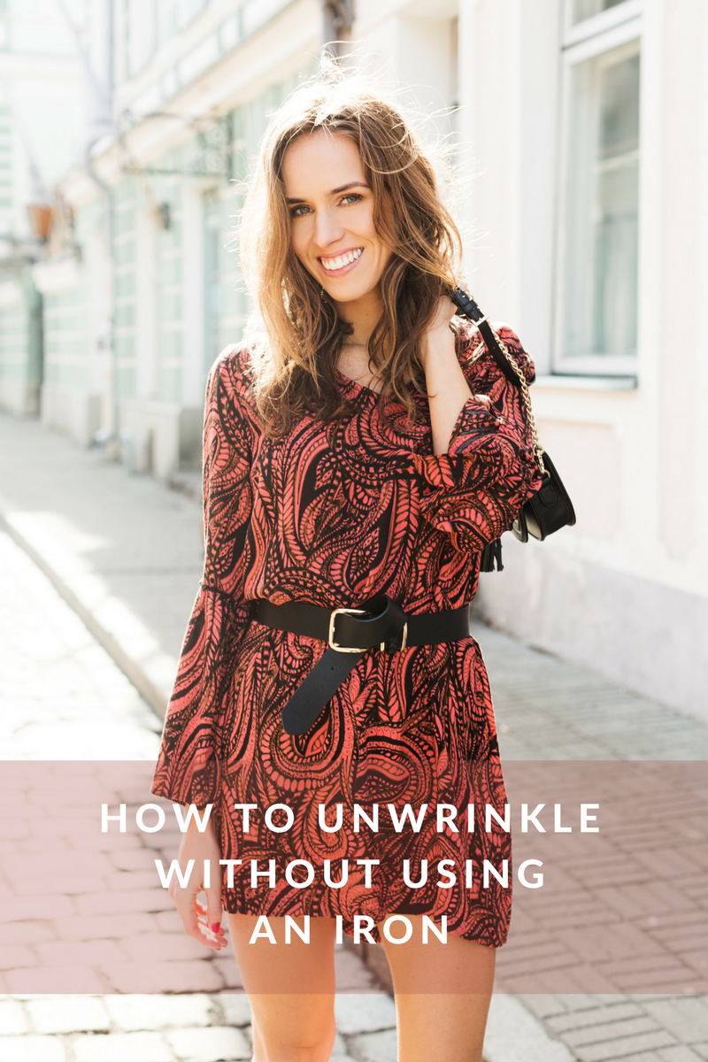 remove wrinkles without iron