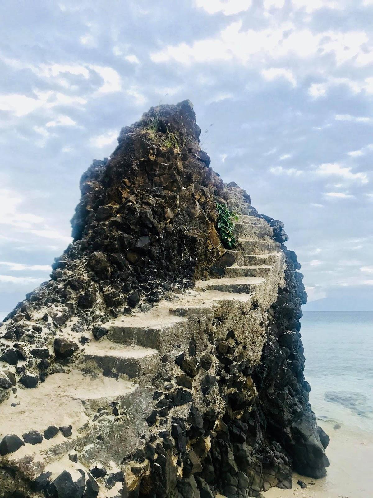 Masasa Beach Rock Formation