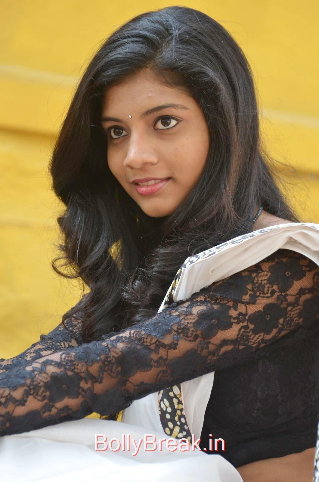 Bindu Photo Gallery with no Watermarks, Bindhu Latest Hot Pics In White Saree