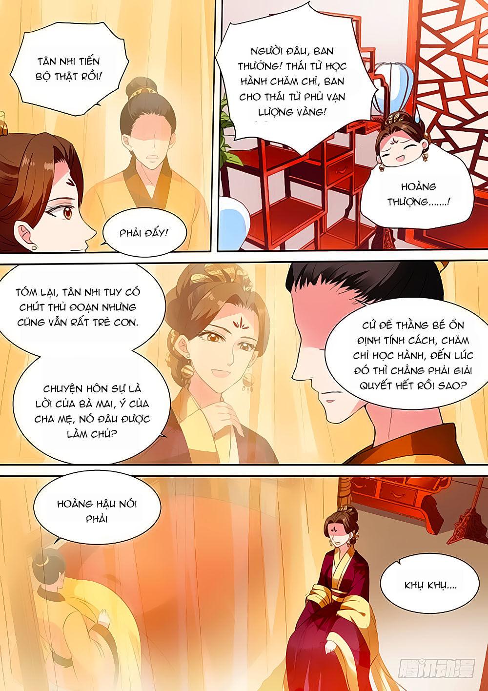 Hệ Thống Chế Tạo Nữ Thần chap 103 - Trang 4