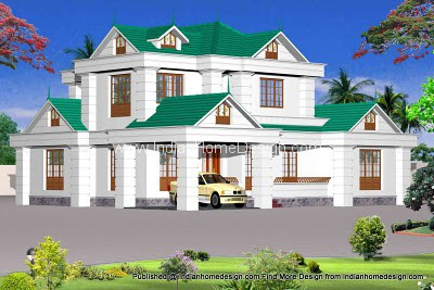 Kerala house plans with photos of a 2200 sqft 3 bedroom house Civil home design