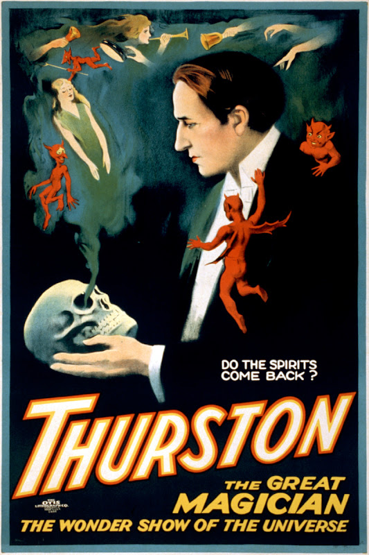 Do the spirits come back? Thurston, The Great Magician