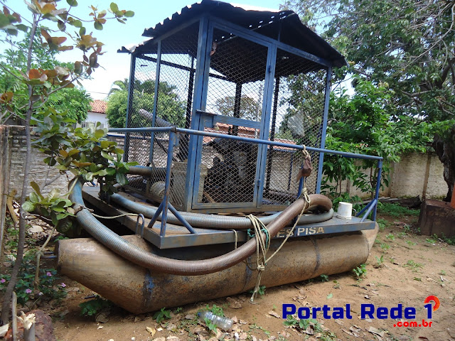 os poços artesianos de sucção situadas na Orla do Açude Joana e a fonte Pirapora não estão sendo mais utilizadas