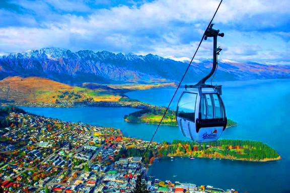 Skyline Queenstown Tempat menarik di new zealand
