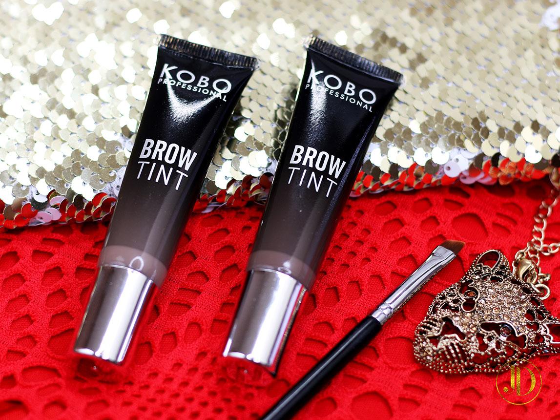 NO TEGO TO JESZCZE NIE BYŁO! - Brow Tint od Kobo Professional - recenzja + makijaż