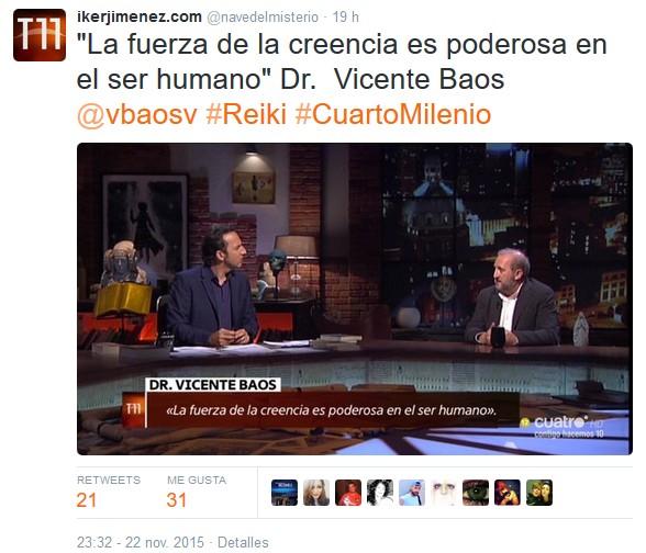 El supositorio el reiki en cuarto milenio for Cuarto milenio temporada 11