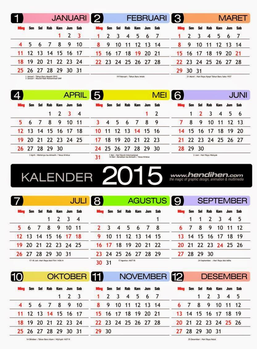 Kalender 2015 Pdf Lengkap