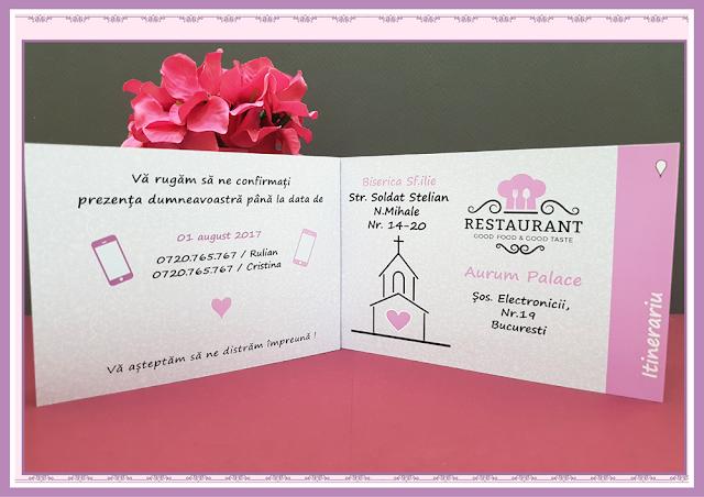 Invitatii Nunta Poveste de Nunta 5