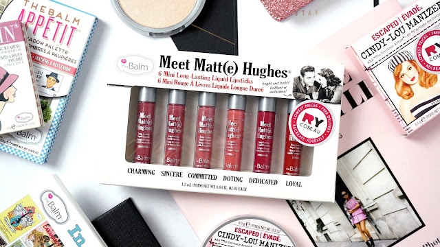Meet Matt(E) Hughes Mini Liquid Lipstick Collection