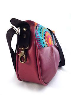 sac avec tissu mandalas