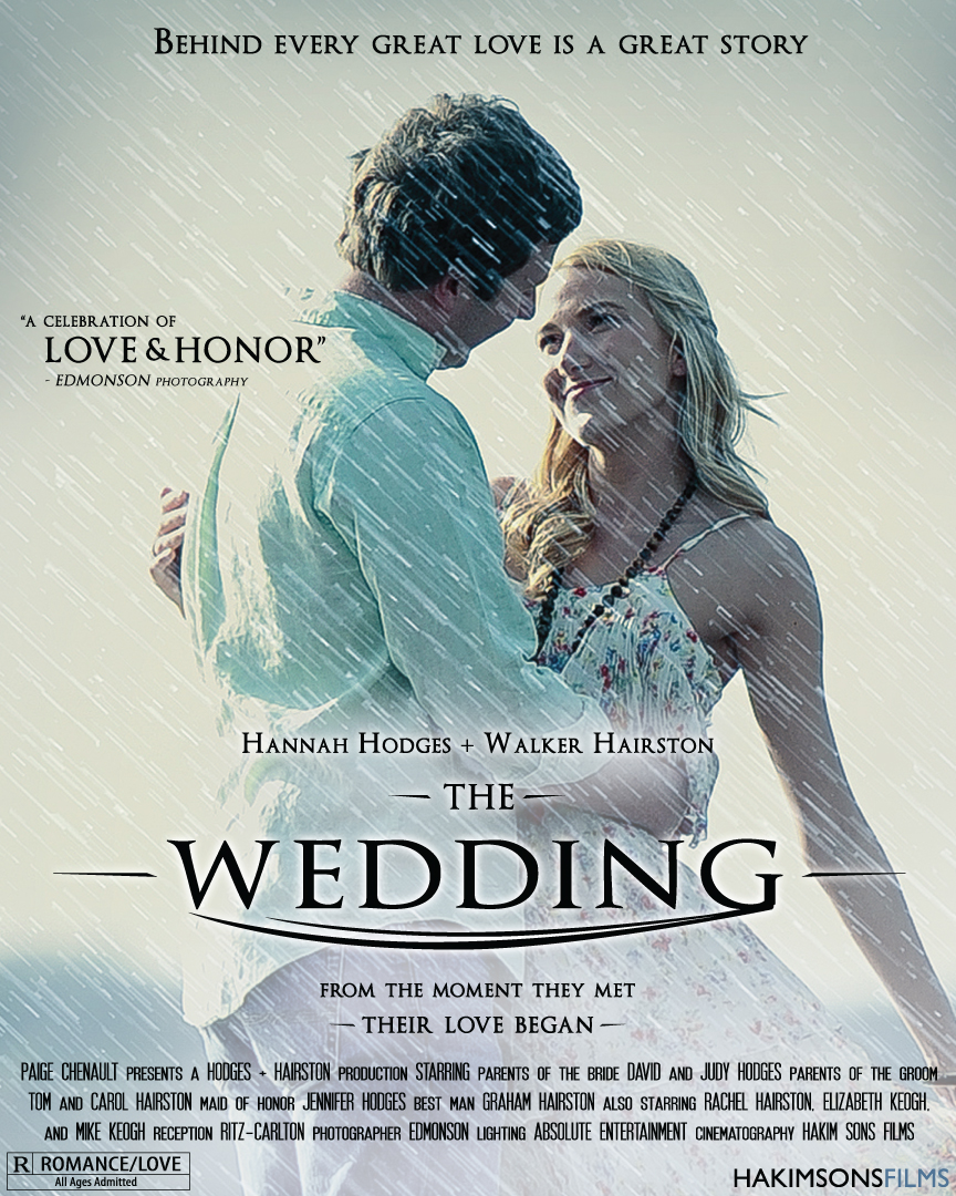 Denvertracy Design: Wedding Movie Poster