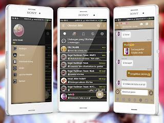 BBM Mod Aksara 3.2.5.12 Apk Terbaru Fitur Full Display Pic+Bom Ping!!!