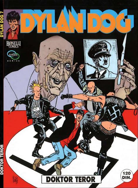 Doktor Teror - System Comics - Dylan Dog