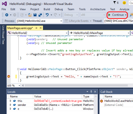 Update 1 Visual Studio 2015