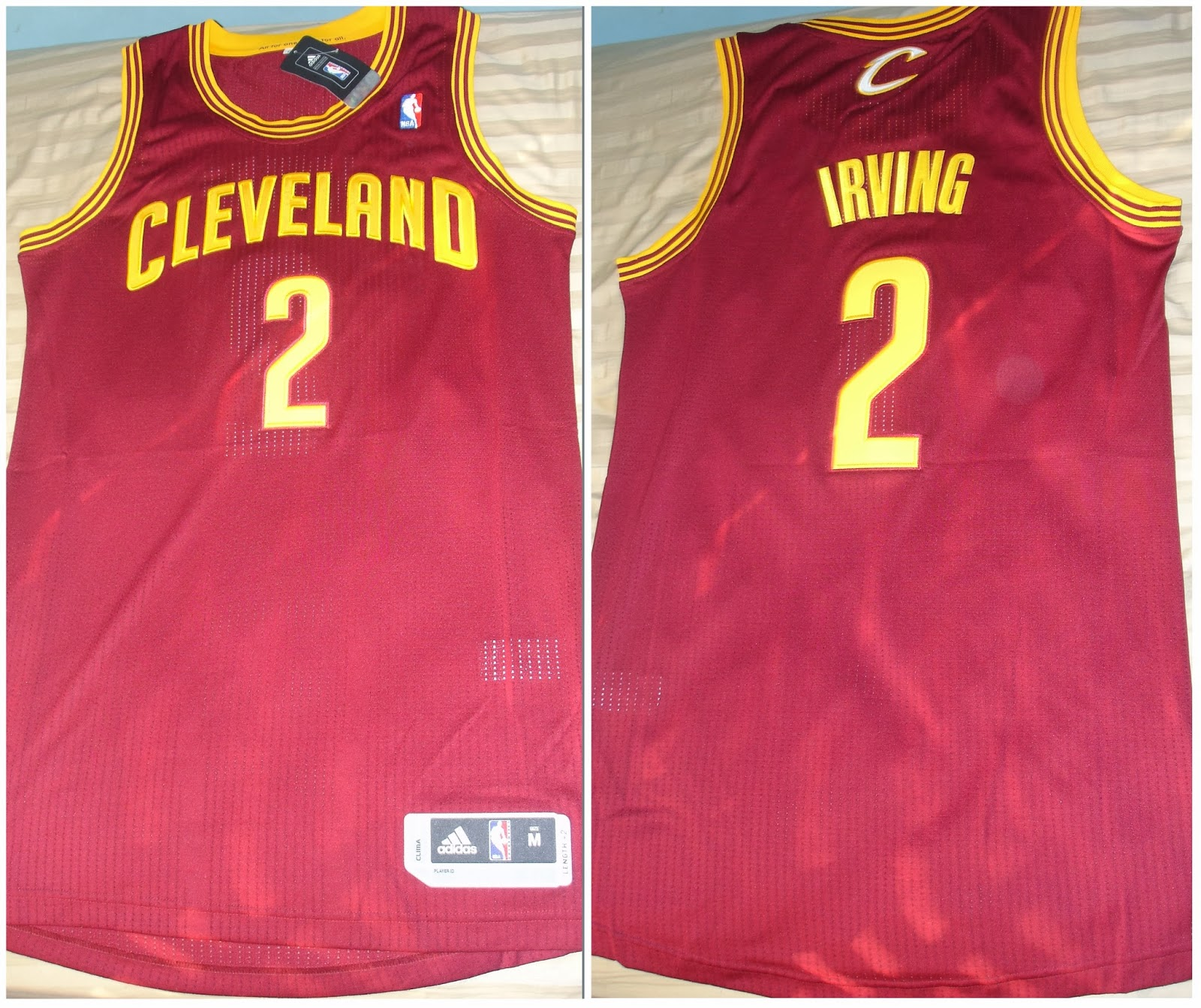 be0c8d88e9445 Acquisition: Kyrie Irving Cleveland Cavaliers Authentic Road Jersey