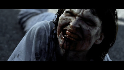 "A ""fast"" zombie from ANGER OF THE DEAD (2015) - image source: October Coast"