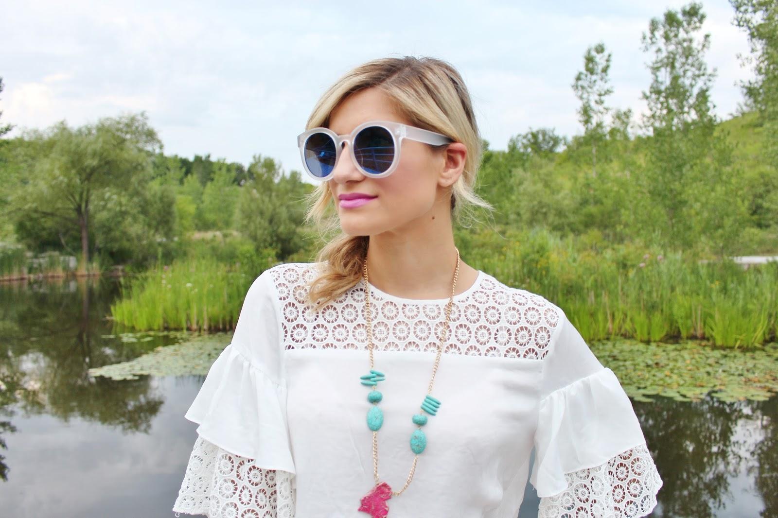Bijuleni-Shop for Jayu mirrored sunglasses
