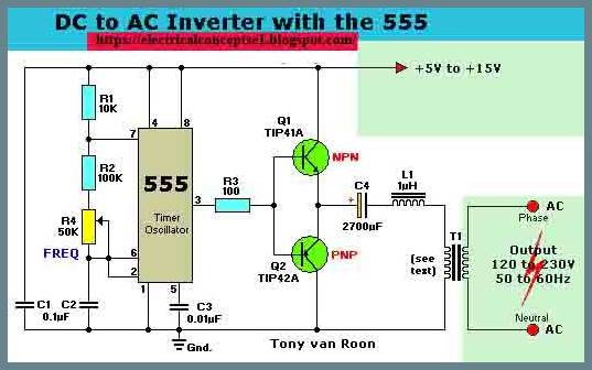 What-is-a-Power-Inverter-DC-to-AC-Inverters-Circuit-Diagram