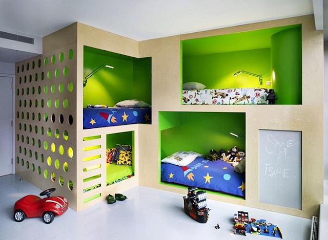 dekorasi bilik tidur anak perempuan