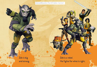 sample pages from Star Wars Rebels: ZEB TO THE RESCUE  [Walt Disney Press/Hyperion]