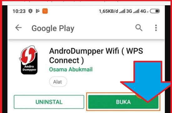 AndroDummper Untuk Bobol Wifi