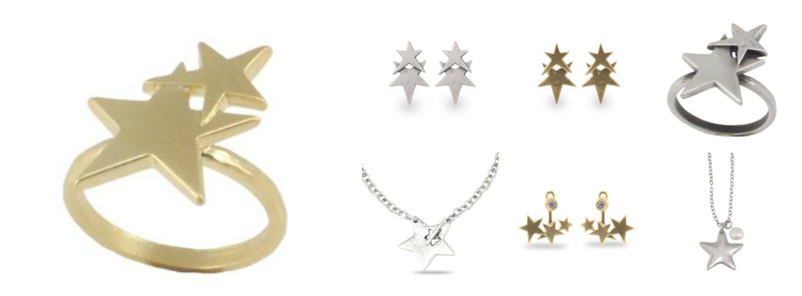 Danon star jewellery from LizzyO http://www.lizzyo.co.uk/