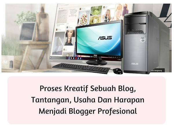 Proses Kreatif Sebuah Blog, Tantangan, Usaha Dan Harapan Menjadi Blogger Profesional