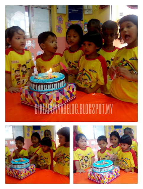 Happy bornday : Nur Farisya Damia turns 4!