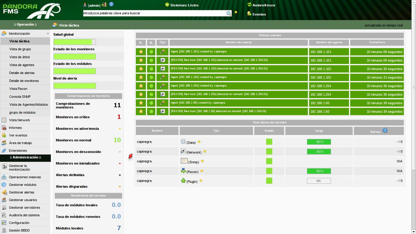 Configuración de monitoreo básico de PandoraFMS (1) 9