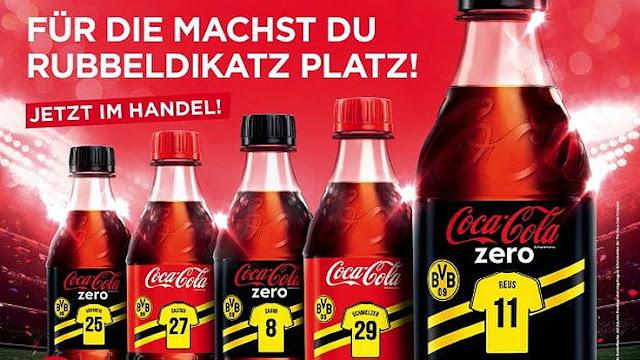 Coca-Cola se queda en el Borussia hasta 2020
