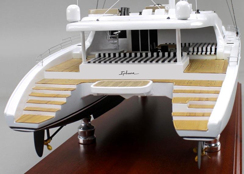 Catamaran Sailboat Replica Model Sd Model Makers