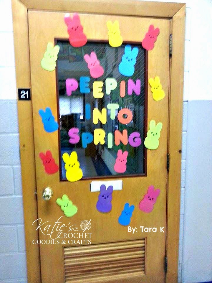 spring classroom door decorations
