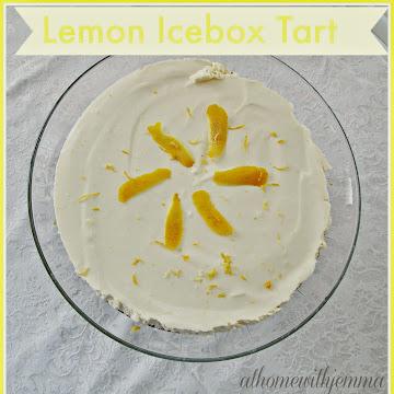 Lemon Icebox Tart