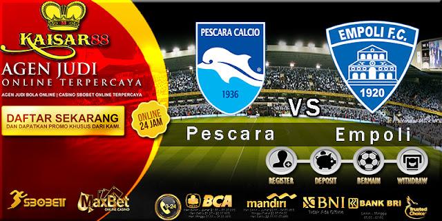 Prediksi Bola Jitu Pescara vs Empoli 25 Maret 2018