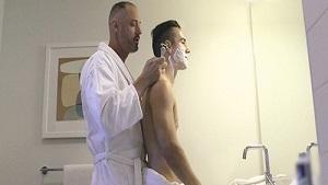 Stepdad's Boyfriend A Closer Shave (Bareback)
