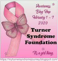 I am a proud sponsor of the 2020 Turner Syndrome Blog Hop!