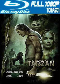 La leyenda de Tarzán (2016) BRRip Full 1080p / BDRip 1080p DTS