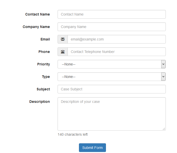 Bootstrap Examples In Visualforce Page Salesforce Tutorials
